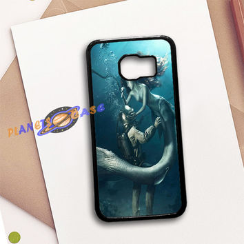 DIVER AND THE MERMAID Samsung Galaxy S6 Case Planetscase.com