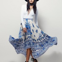 Free People Hotel Paradiso Castaway Skirt