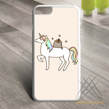 Pusheen Cat With Unicorn Custom case for iPhone, iPod and iPad