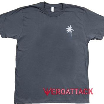 Coconut Trees Dark Grey T Shirt Size S,M,L,XL,2XL,3XL