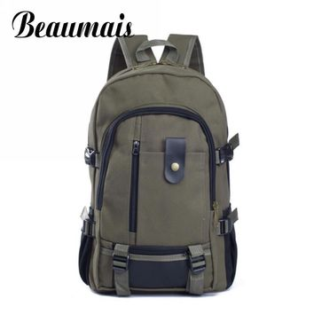 2017 New Fashion Men's Canvas Backpack Unisex Men Vintage Canvas Backpack Rucksack School Bags Satchel Men's Travel Bags DB3830