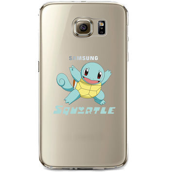 Pokemon Squirtle Jelly Clear Case for Samsung Galaxy S7 Edge