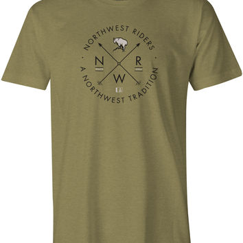 Billy T-Shirt Light Olive