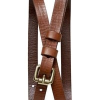 Banana Republic Roller Buckle Skinny Belt