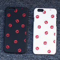 Lip Print Case Cover for iphone 5s 6 6s Plus Gift 198