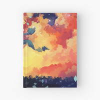 'Burning Heaven' Hardcover Journal by laovaan