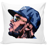 Chris Brown Pillow