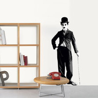 Charlie Chaplin Wall Decal at AllPosters.com
