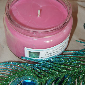 All Natural Soy Container Candle in Fluffy Pink Cupcake