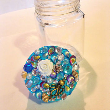 Mermaid Stash Jar