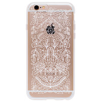 Rifle Paper Co. Clear Floral Lace iPhone 6/6S case