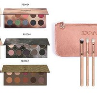 Zoeva 12pcs/set Rose Golden Makeup Brushes Sets T & Zoeva Eyeshadow Cocoa Blend Rose Golden Smoky Palette