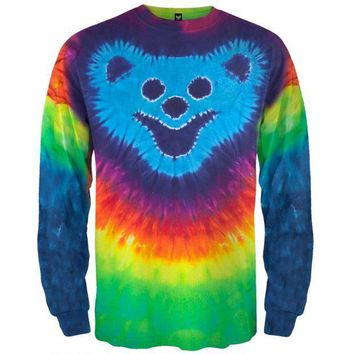 PEAPGQ9 Bear Face Design I/S Tie Dye - Large