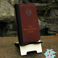 FREE SHIPPING! The Neverending Story Book - Samsung Galaxy S3, S4, S5, S6, S6 Edge, Note 3 and 4 Wallet Folio Case