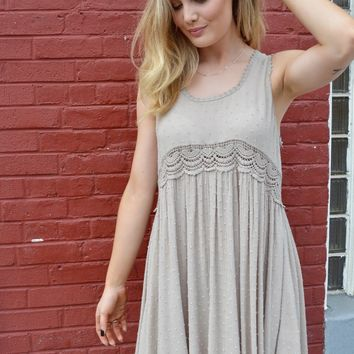 Bare My Love Crochet Dress