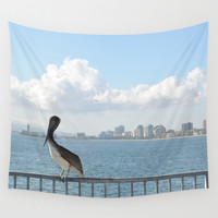 Seaside City Harmony Wall Tapestry by RichCaspian