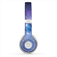 The Blue & Purple Mixed Universe Skin for the Beats by Dre Solo 2 Headphones