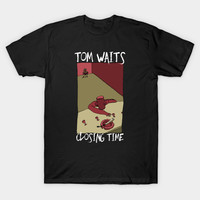 Tom Waits - Closing Time 1973 by blacklinewhite