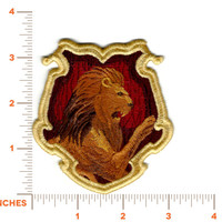 "Harry Potter ""Gryffindor"" Hogwarts House Crest Inspired - Embroidered Iron-on Patch"