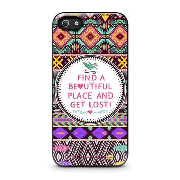 piece tribal pattern 2 iphone 5 5s se case cover  number 1