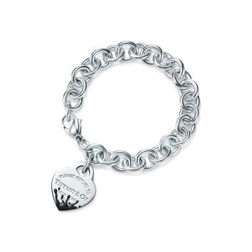 Tiffany & Co. - Return to Tiffany®:Color Splash Heart Tag<br>Bracelet