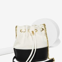 Cookies 'n Crime Bucket Bag