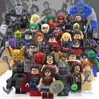 DC Super Heroes Action Figures Building Toys Blocks Minifigures Dawn of Justice League Batman VS Superman Minifigures