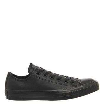 **CONVERSE All Star Low Leather Trainers