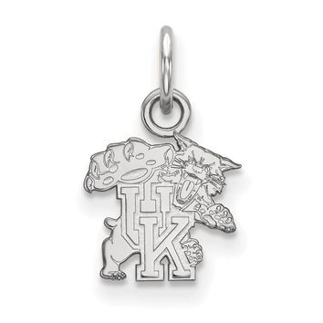 925 Sterling Silver University of Kentucky Wildcats Charm Pendant - X-Small