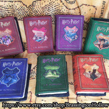 All 7 Harry Potter Book Pillows