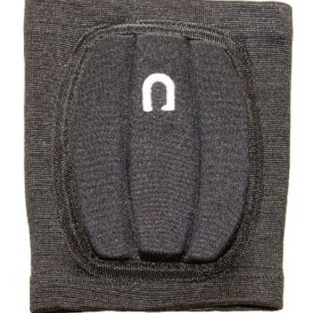 nahdeh Volleyball Knee Pads - NO BRUISED KNEE GUARANTEE (BLACK, LARGE O)