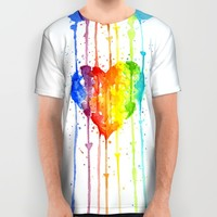 Love Wins All Over Print Shirt by Olechka