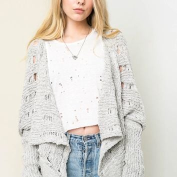 Bolero Knit Sweater Cardigan