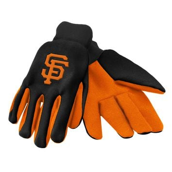 San Francisco Giants Official MLB 2015 Utility Gloves - Colored Palm
