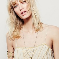 Free People Golden Age Embellished Tank
