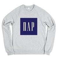 Nap-Unisex Heather Grey Sweatshirt