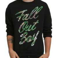 Fall Out Boy Tropical Crew Pullover