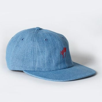 Only OK Polo Hat - Denim