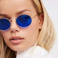 Free People Candy Crush Oval Sunnies