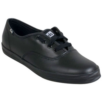 Keds Champion Originals Black Leather Black Sneaker