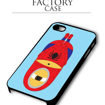 despicable me spiderman iPhone for 4 5 5c 6 Plus Case, Samsung Galaxy for S3 S4 S5 Note 3 4 Case, iPod for 4 5 Case