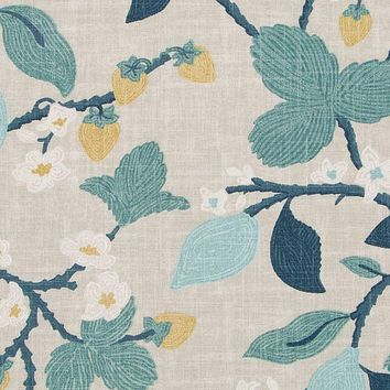 Robert Allen Fabric 510560 Crewel Summer Cove