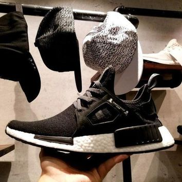 VLX85E Beauty Ticks Adidas The Mastermind X Nmd Xr1 Japan Ba9726 Black With Skull Running Shoes Men Women