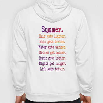 ♥ ♥ ♥   SUMMER IN PINK ♥ ♥ ♥    ZIP Hoody by M✿nika  Strigel	 | Society6 for GIRLZ And BOYZ in lots of colours!!!