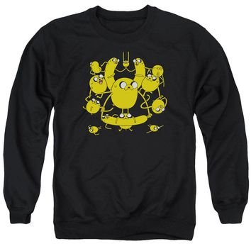 Adventure Time - Jakes Adult Crewneck Sweatshirt Officially Licensed Apparel