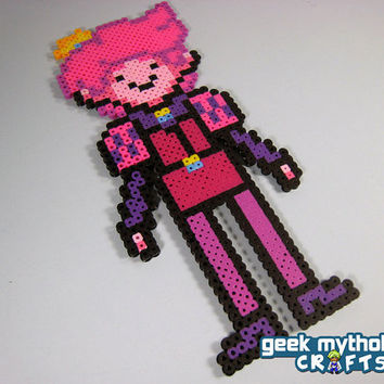 Prince Gumball Adventure Time Custom Design Perler Bead Sprite Decoration