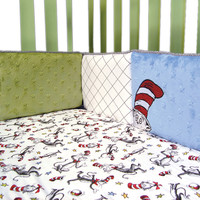 Dr. Seuss Cat In The Hat - Crib Bumpers
