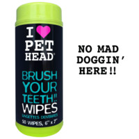 Brush Your Teeth!! Wipes | Pet Head