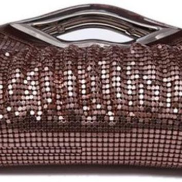 New Luxury Paillette EveningBags High Quality Handmade Evening Cluth Bags in Sequin Beading Quilt Designer-2