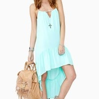 Wandering Ways Dress - Mint